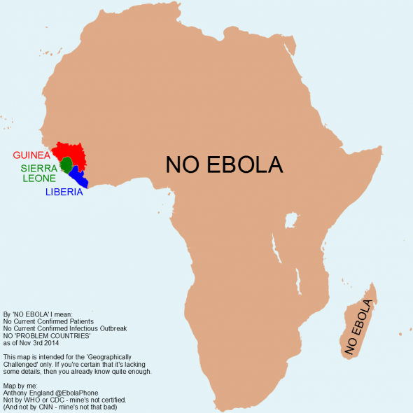 africa ebola map goes viral sapeople your worldwide