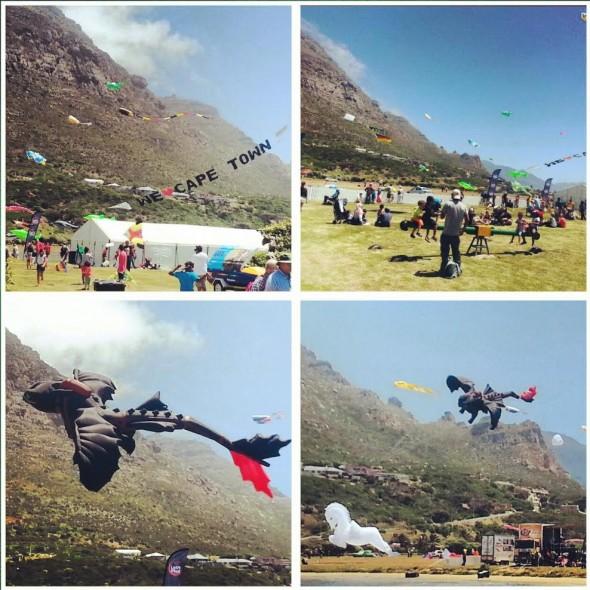 International Kite Festival, Muizenberg, South Africa