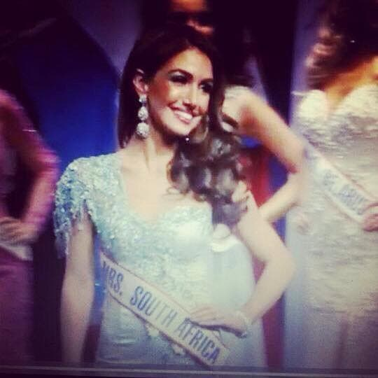 Mrs South Africa Sarah-Kate Scott crowned runner-up at the Mrs World event in the USA. Source: FB