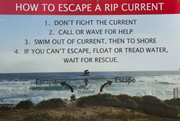 Rip Current South Africa