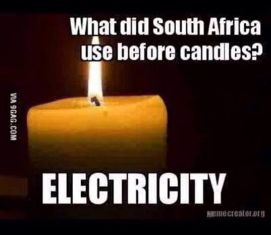 Load shedding in South Africa