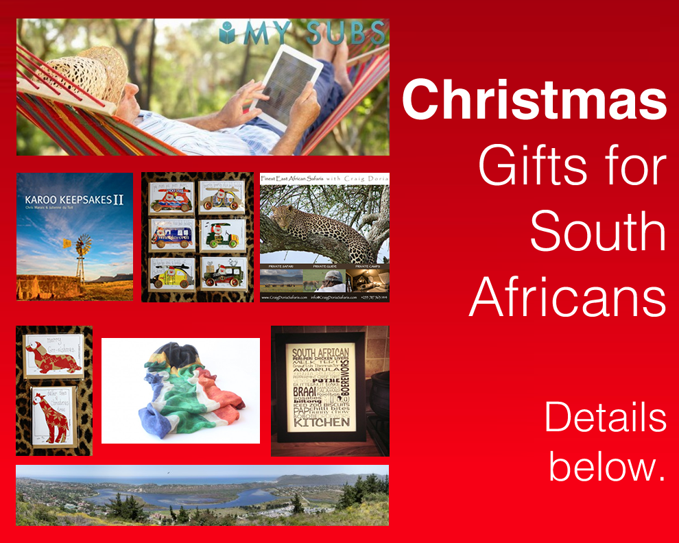 Christmas Gifts for South Africans
