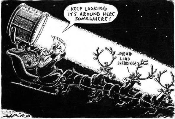 SA Load shedding at Christmas