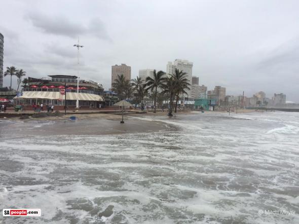 North Beach Durban Tsunami