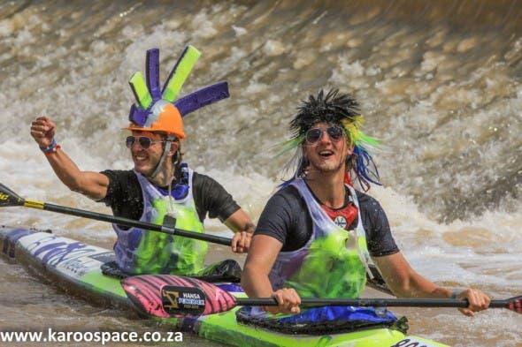 hansa fish river canoe marathon, cradock