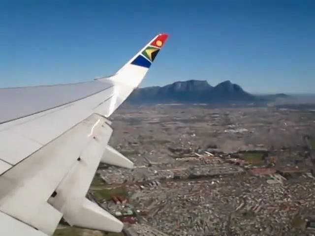 Flying home to South Africa
