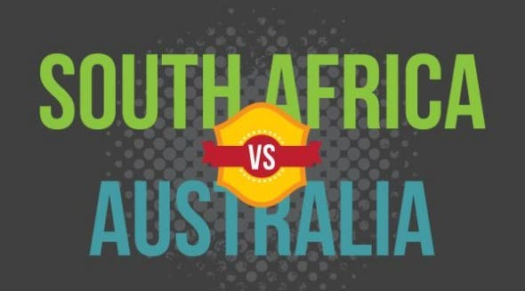 South Africa and Australia's sports rivalry can be traced back to 1902, when the two first faced each other in test cricket match. Since then, both countries have been at each other's throats in various sports, from rugby to swimming. (Image: Brand South Africa)