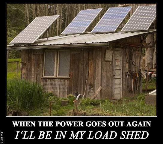 South African load shedding humour
