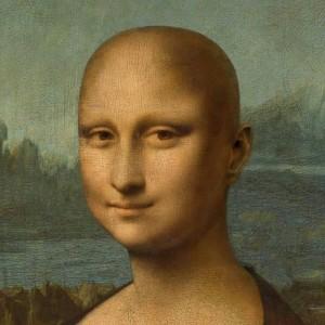 Bald Mona Lisa