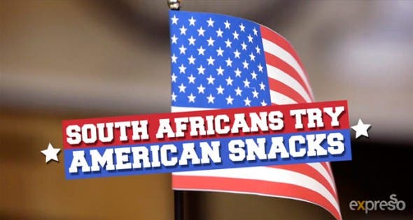 South Africans try American Snacks