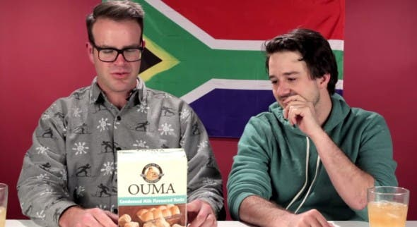 sapeople - americans try south african snacks
