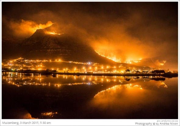 Andy Nix photo of #CapeFire