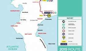 New Cape Argus Route Map