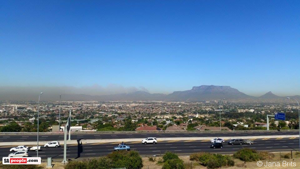 Cape Town this morning. Photo: Jana Brits