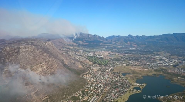 Cape Town Fire, South Africa