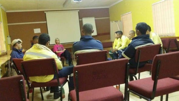 Counselling for Mamre and Cata fire fighters who were working at Cape Point fire.