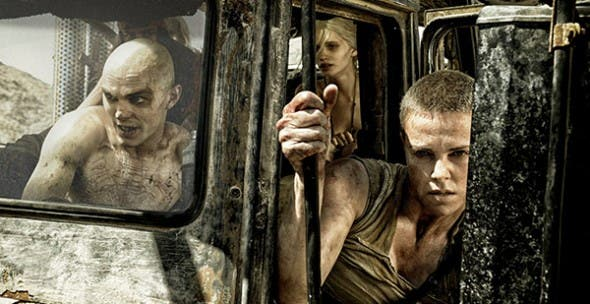 Charlize Theron in Mad Max: Fury Road © Warner Bros Pictures