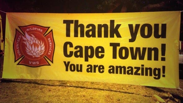 VWS: Thank you Cape Town