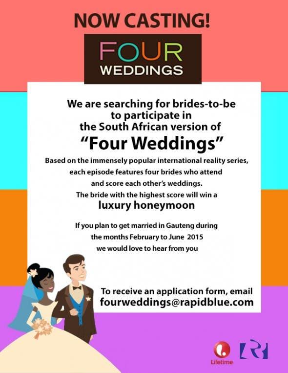 FOUR WEDDINGS FLYER