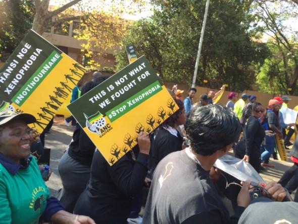 #PeoplesMarch Joburg