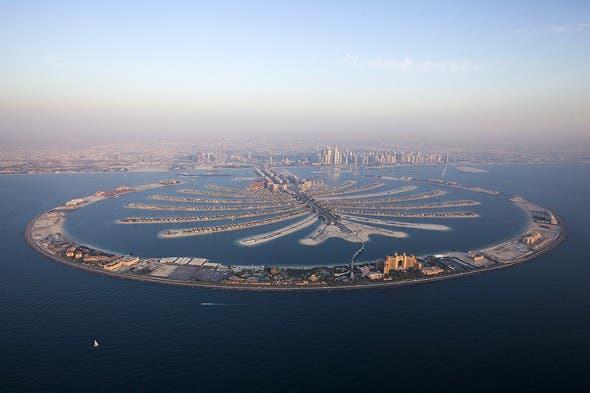Palm Jumeirah aerial. Photo courtesy of Nakheel