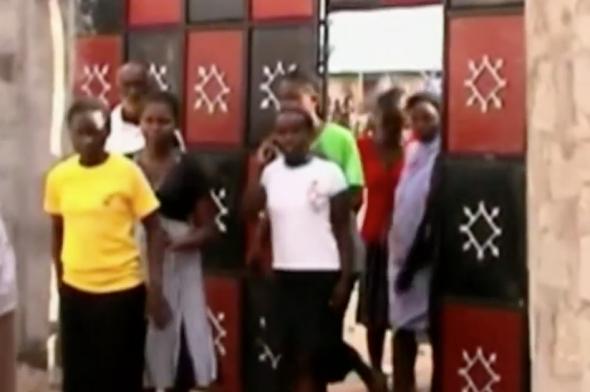 Students at Garissa University