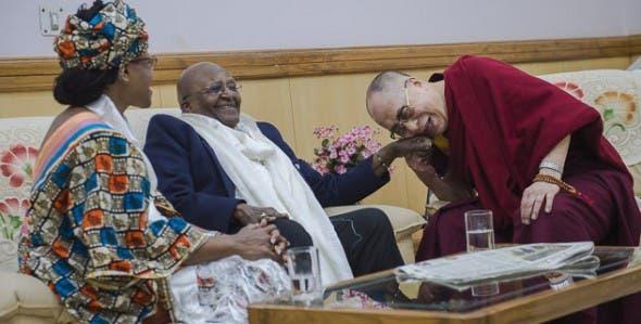The Dalai Lama and Archbishop Desmond Tutu