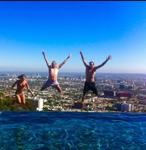 Pool in LA