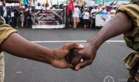 Anti-Xenophobia Peace March, Durban, South Africa