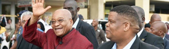 South African President Jacob Zuma visits Chatsworth this week.
