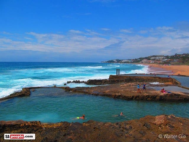 Salt Rock tidal pools KZN Photo by Walter Gie saltrockhellip