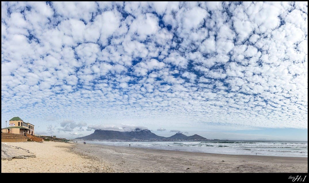 Cloud extravaganza, Cape Town, South Africa