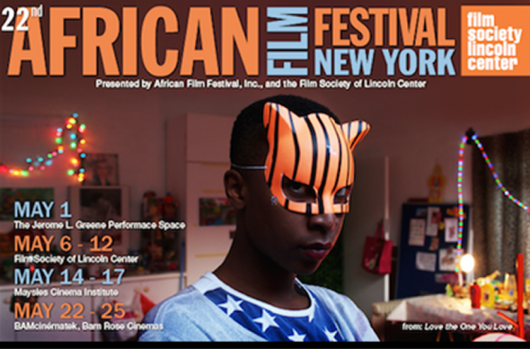 NYAFF Poster featuring image from South African film Love the One you Love.