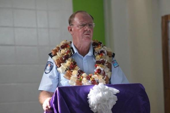 Fiji Police Commissioner Ben Groenewald