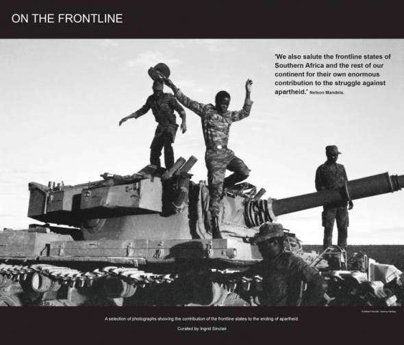 On the Frontline exhibition
