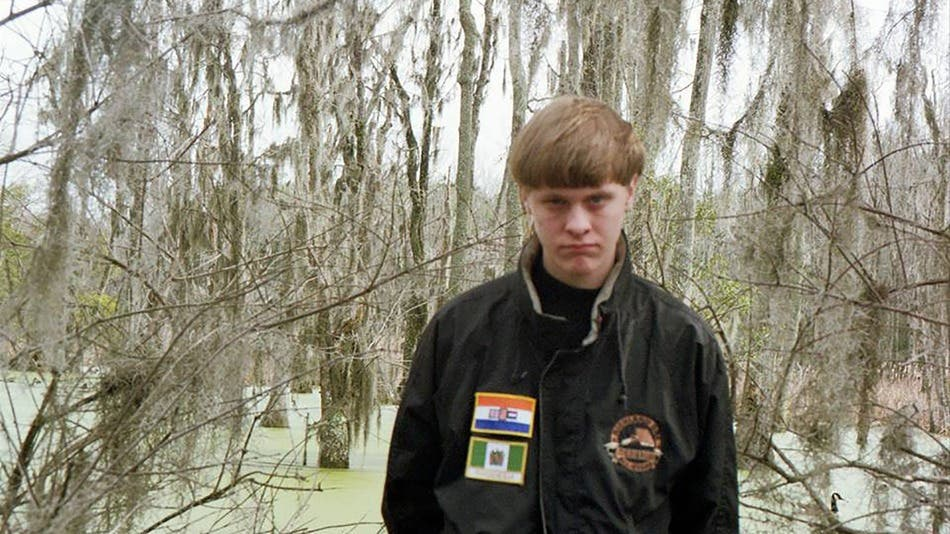 Fake Images Claim To Show Photoshopping On Dylann Roof S