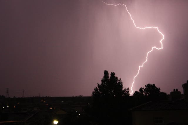 Highveld thunderstorms