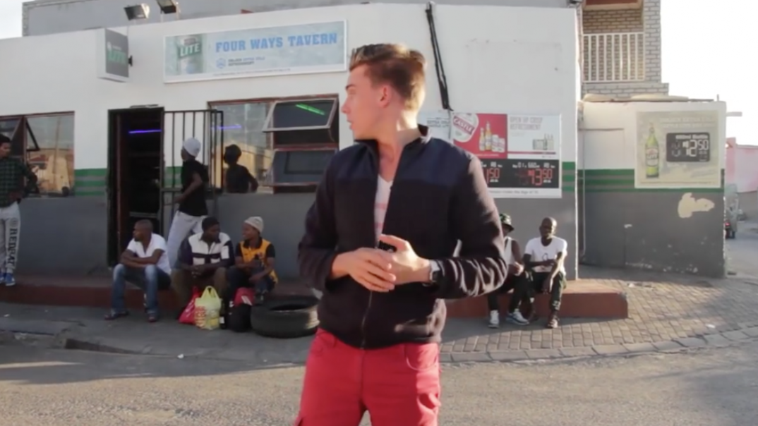 Navigating a South African township