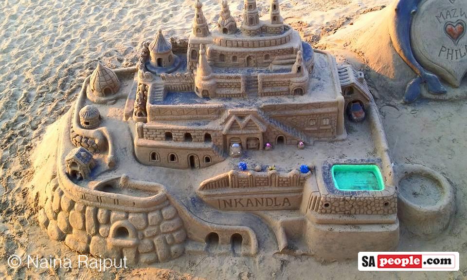 Nkandla Beach Art