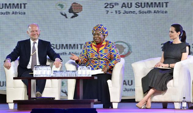 Angelina Jolie at the AU Summit