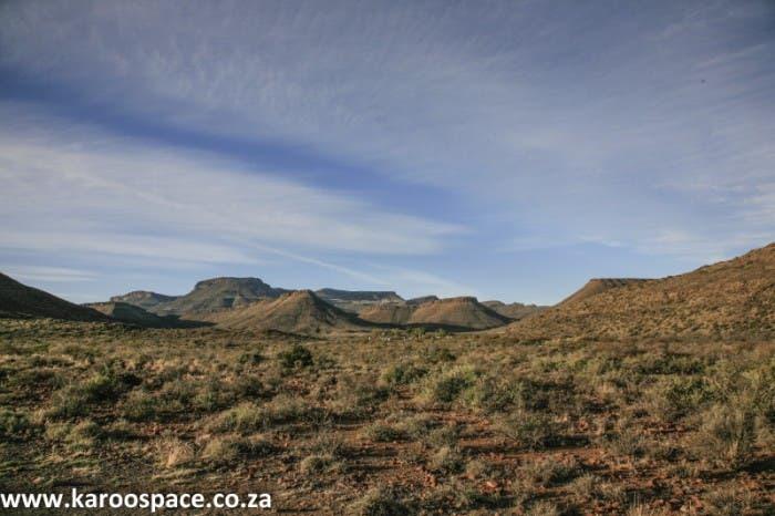 The Karoo National Park outside Beaufort West.