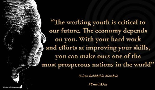 Nelson Mandela Youth Quote