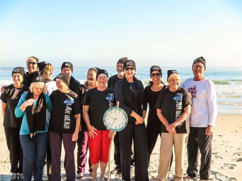 Polar Bear Challenge, Clifton Beach, South Africa