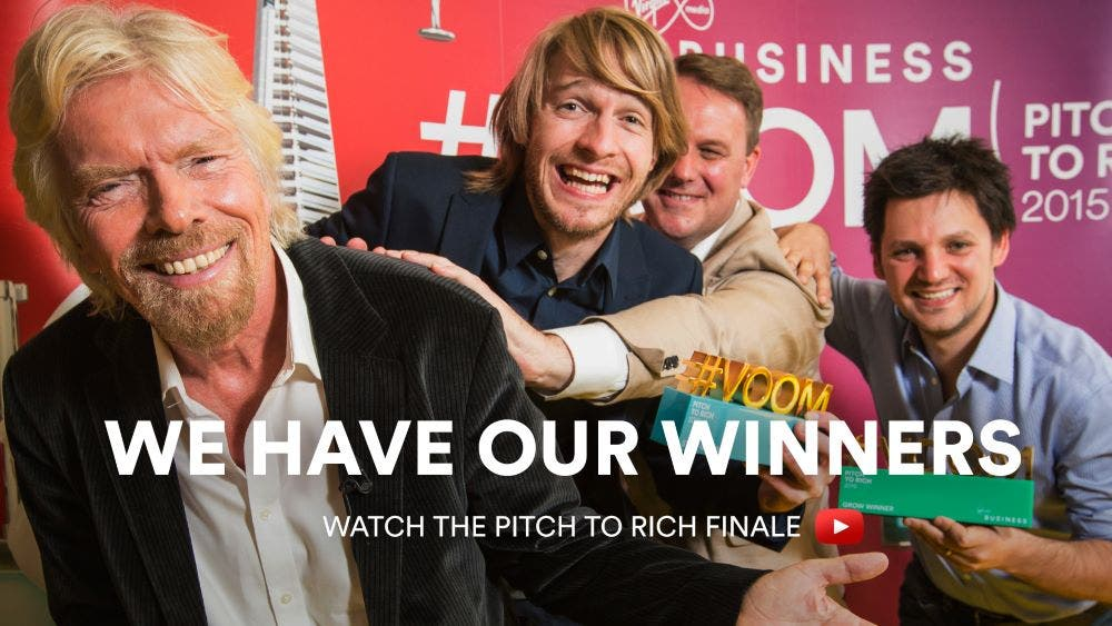 South African winner in Richard Branson Virgin contest