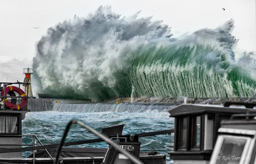 Kalk Bay waves June 2015 South Africa