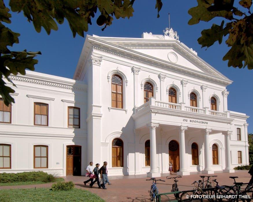 The Old Main Building Stellenbosch University