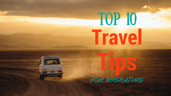 Travel Tips for Migrating, South Africa