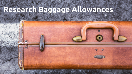 Research Baggage Allowances