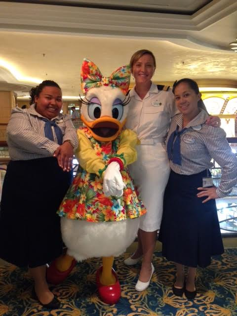 Disney Cruise Ship, South Africans