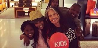 Steven Tyler in South Africa